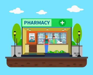 Pharmacy Concept Illustration